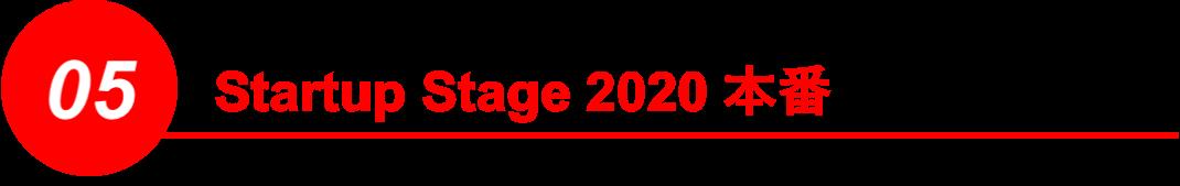 Startup Stage 2020