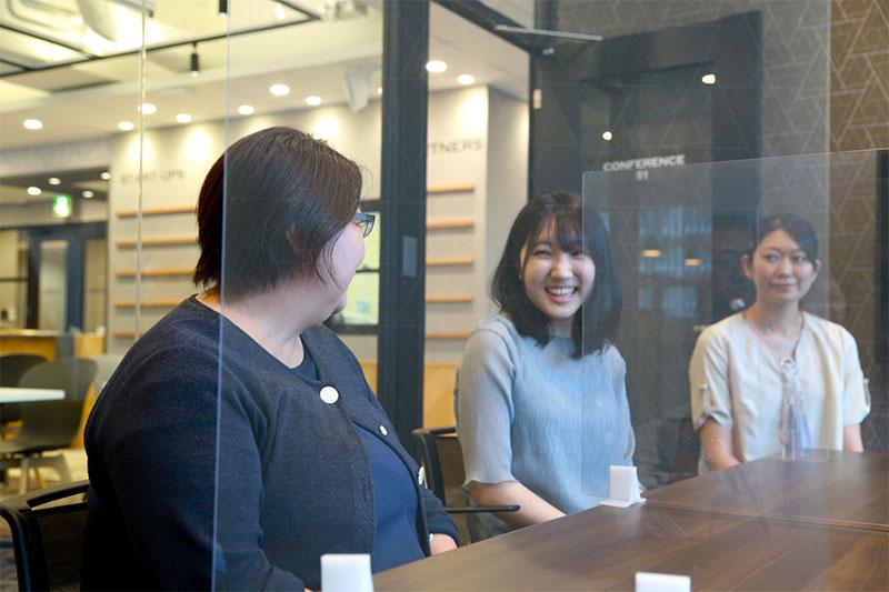 インキュベーション施設を使う-起業ノカタチ-女性3名